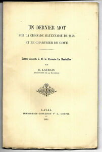 Ernest Laurain Et Les études Historiques Dans La Mayenne Par Anne Terroine