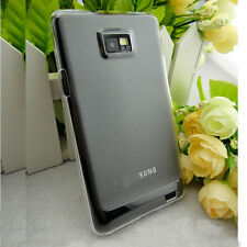 Clear 0.5mm Crystal Hard Back Skin Case Cover For Samsung Galaxy S2 i9100