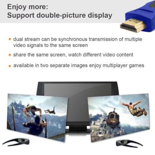 Support 3D,4Kx2K,Audio Return 3 Feet Full 2160P Capable HDMI Cable Category 2