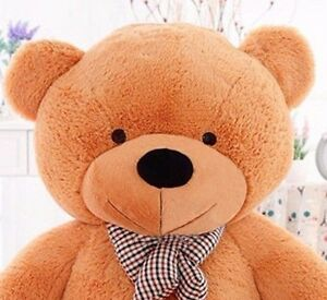 Large-Teddy-Bear-Big-Jumbo-Stuffed-Animal-Soft-Plush-Kids-Christmas-Toy-Gift