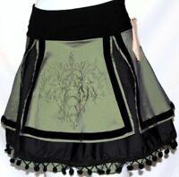 L Lolita Tribal Burlesque Steampunk Gothic Belly Dance Dancing Mini Skirt Belt
