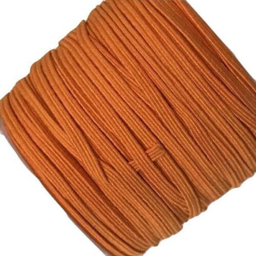 "10 yards orange 1//8/"" thin skinny elastic DIY baby headband /& accessories"