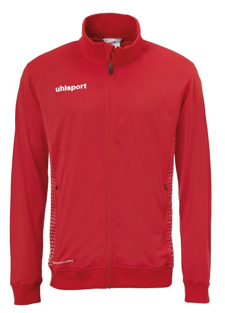 Uhlsport uomini sport Footbtutti Soccer Jacket lungo Sleeve Full Zip Tracksuit Top