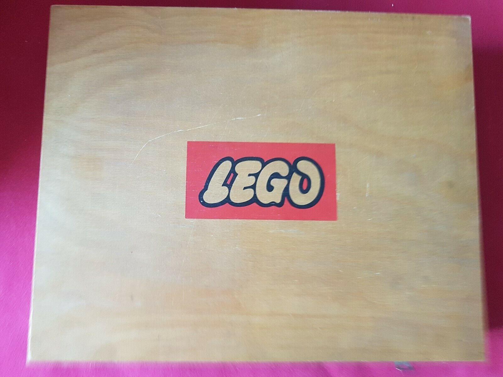 Lego  alte Sortierkästen, Holz, leer  46,5 x 37,5 x 7,5 cm  4 von 4