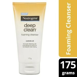 Neutrogena Deep Clean Foaming Face Cleanser 175g