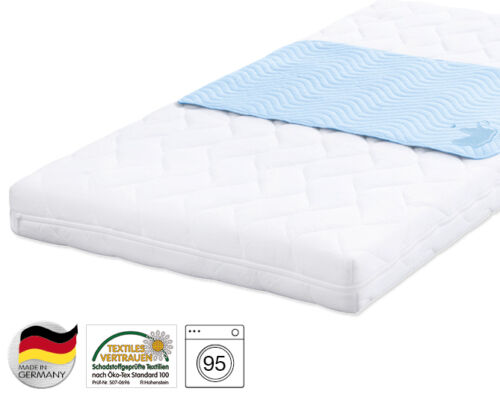 Julius agentes aduaneros cama depósito Safety plus impermeable de 70 x 140 cm