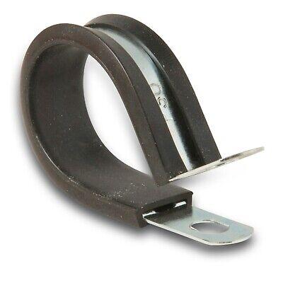 5x P-Clip Abrazadera con goma 6mm ; abrazadera de tubo retenci/ón