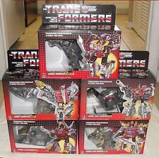 TRANSFORMERS GRIMLOCK, SNARL, SLUDGE, SWOOP, SLAG MIB! G1 DINOBOTS IN THE USA!