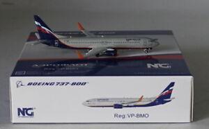 Aeroflot VP-BMO in 1:400 Scale NG Model 58019 Boeing 737-8LJ WL