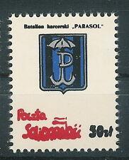 Poland SOLIDARITY POST military badge Scouts Battalion Umbrella PARASOL