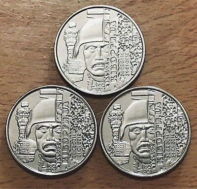 "PCS UKRAINE x 10 HRYVEN 2018 /""Defenders of Donetsk airport/"" UNC 10 Coins New"