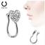 60pcs-For-Women-039-s-Crystal-Nose-Rings-Bone-Stud-Stainless-Steel-Body-Piercing-US thumbnail 22
