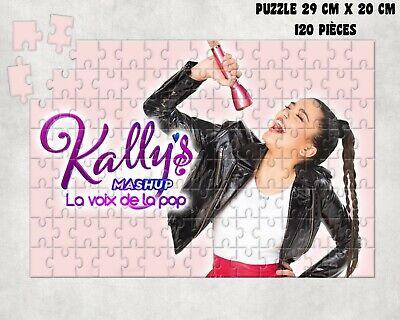 PUZZLE 120 PIECES Kally/'s mashup PERSONNALISE AVEC PRENOM DE VOTRE CHOIX