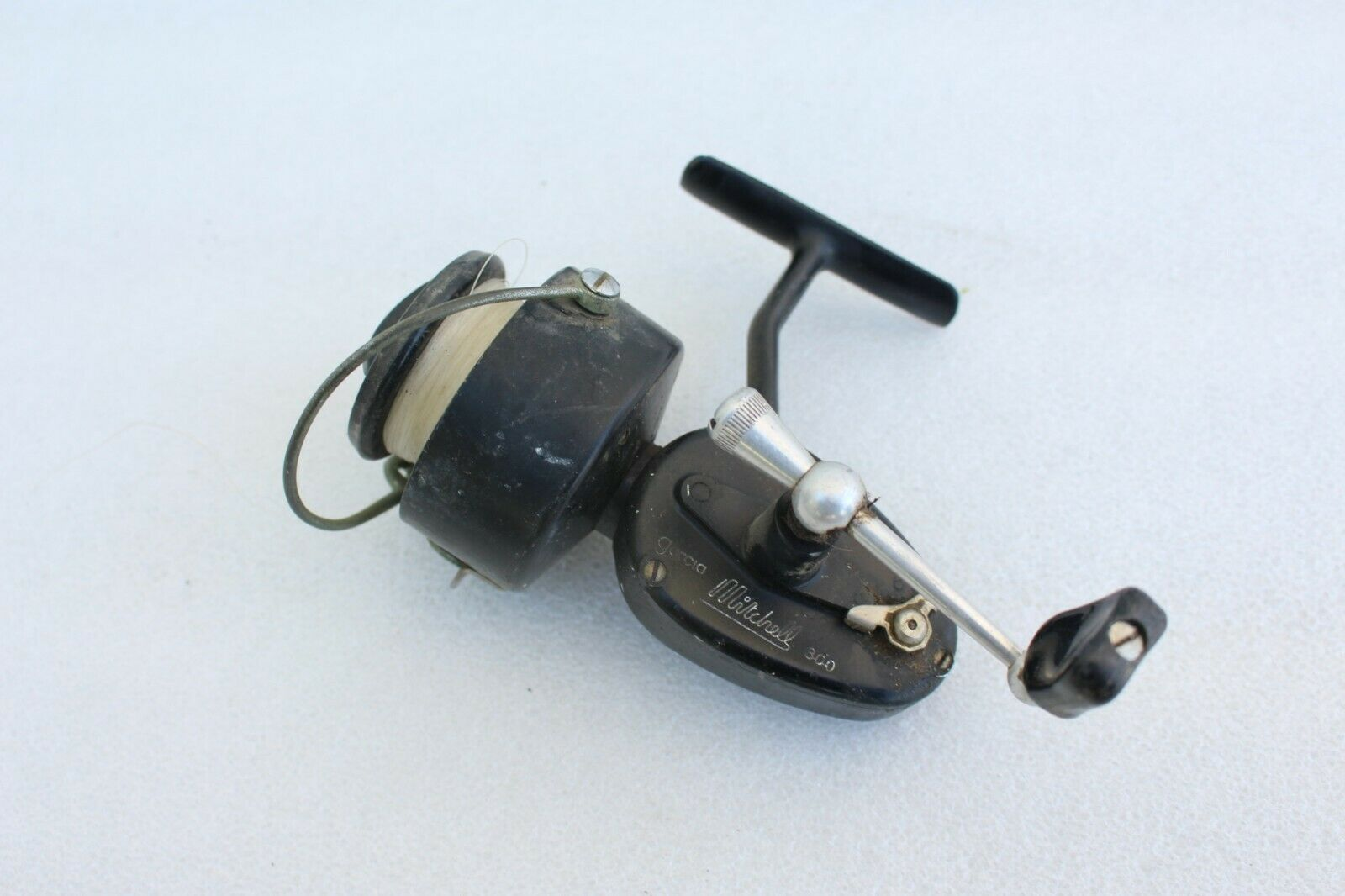1964 Vintage Garcia Mitchell 300 Spinning Fishing Reel Collector Nice SN 6416847