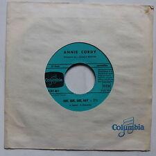 Juke Box ANNIE CORDY que que que hay / sa majeste SCRF  461