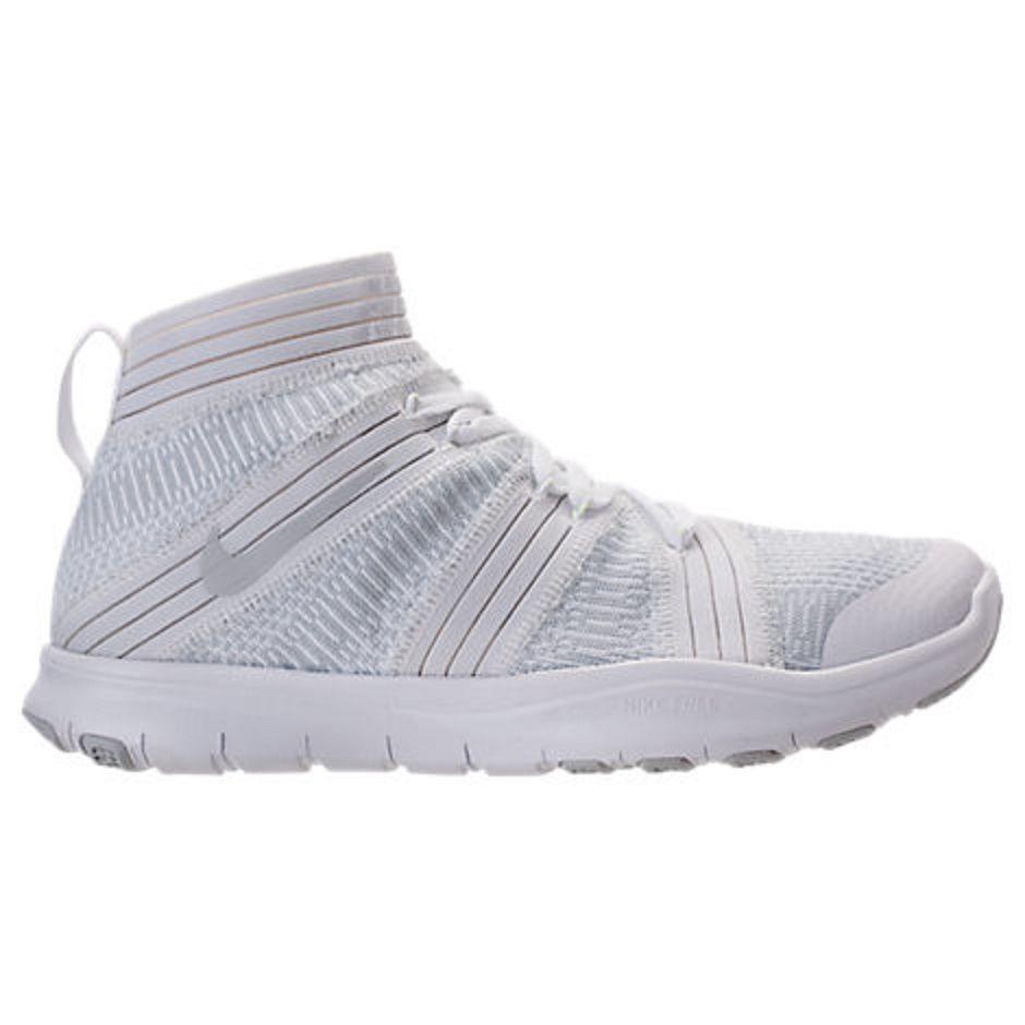 Men's Nike Free Train Instinct 2 Training shoes - White color - size 10