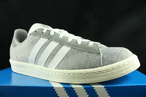 tout neuf da0b1 fb444 Details about ADIDAS CAMPUS 80'S BW BEDWIN AND THE HEART BREAKERS GREY  WHITE S75675 SZ 13
