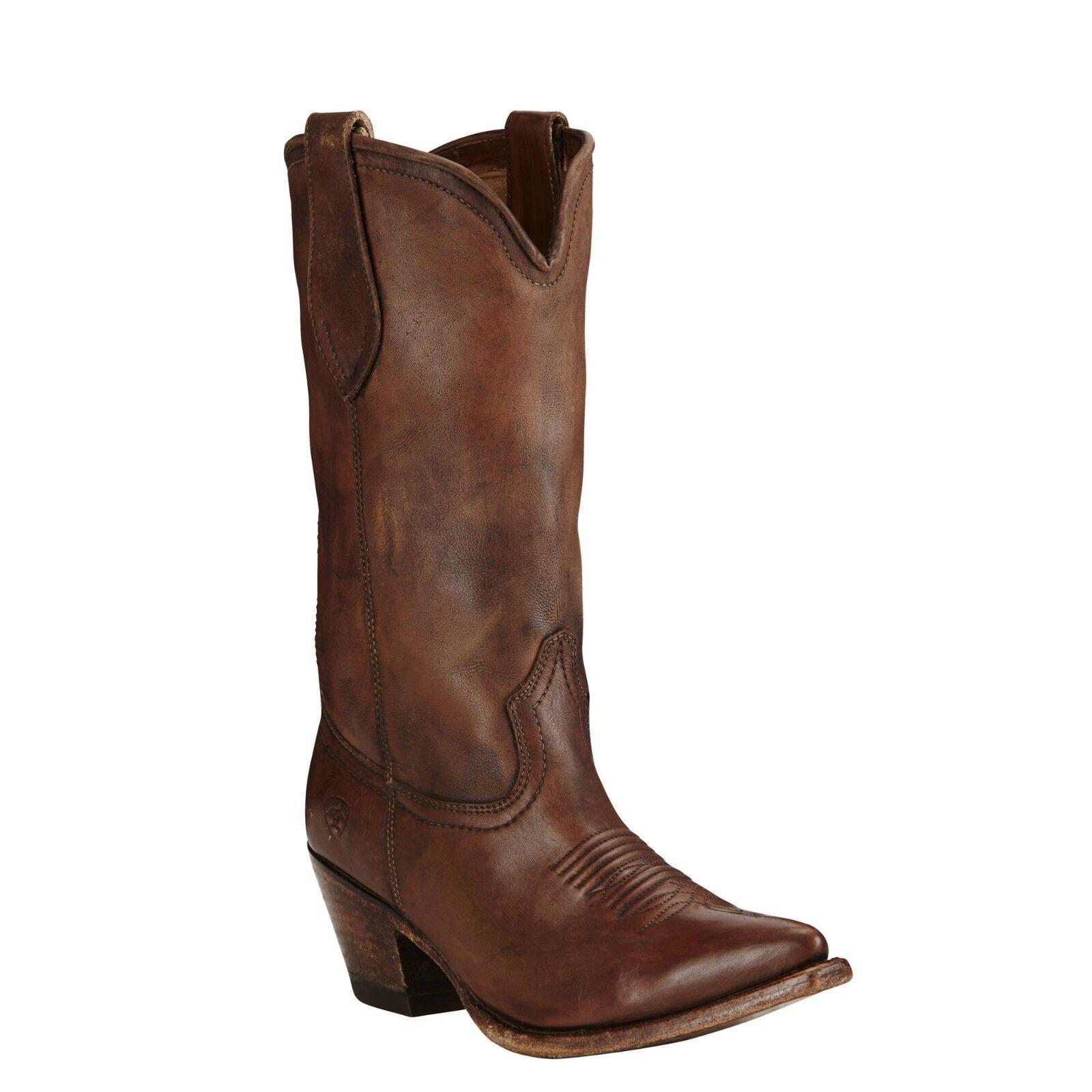 Ariat® Ladies Josefina Naturally Distressed Brown Boots 10019979