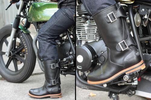 11 G 7 Stivale 10 Polpaccio Nero Zip Norton amp; 8 12 Uk X Clarks Motociclista 9 qpR4RO