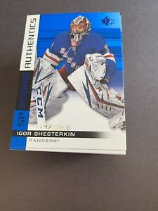 2019-20-Upper-Deck-SP-Rookie-Authentics-Blue-foil-101-140-you-pick