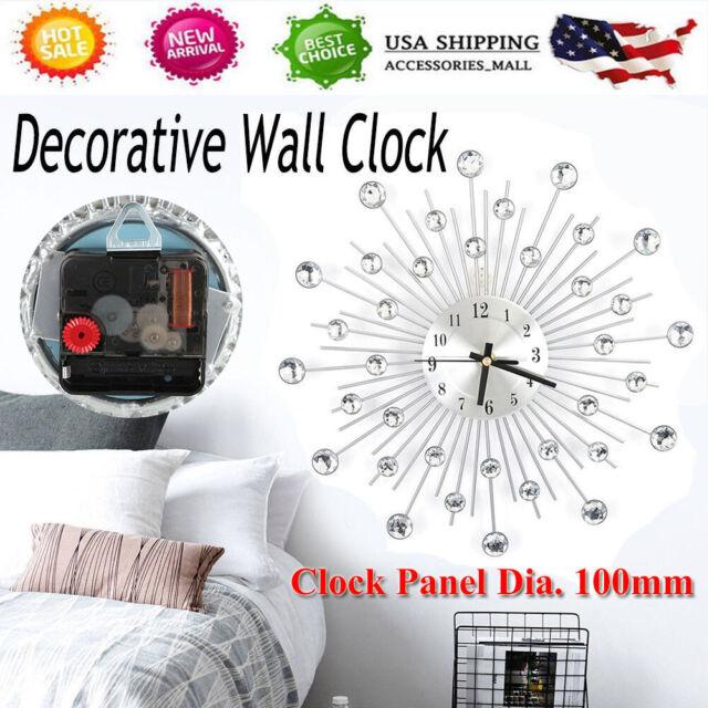 Wall Clocks Metal Living Room