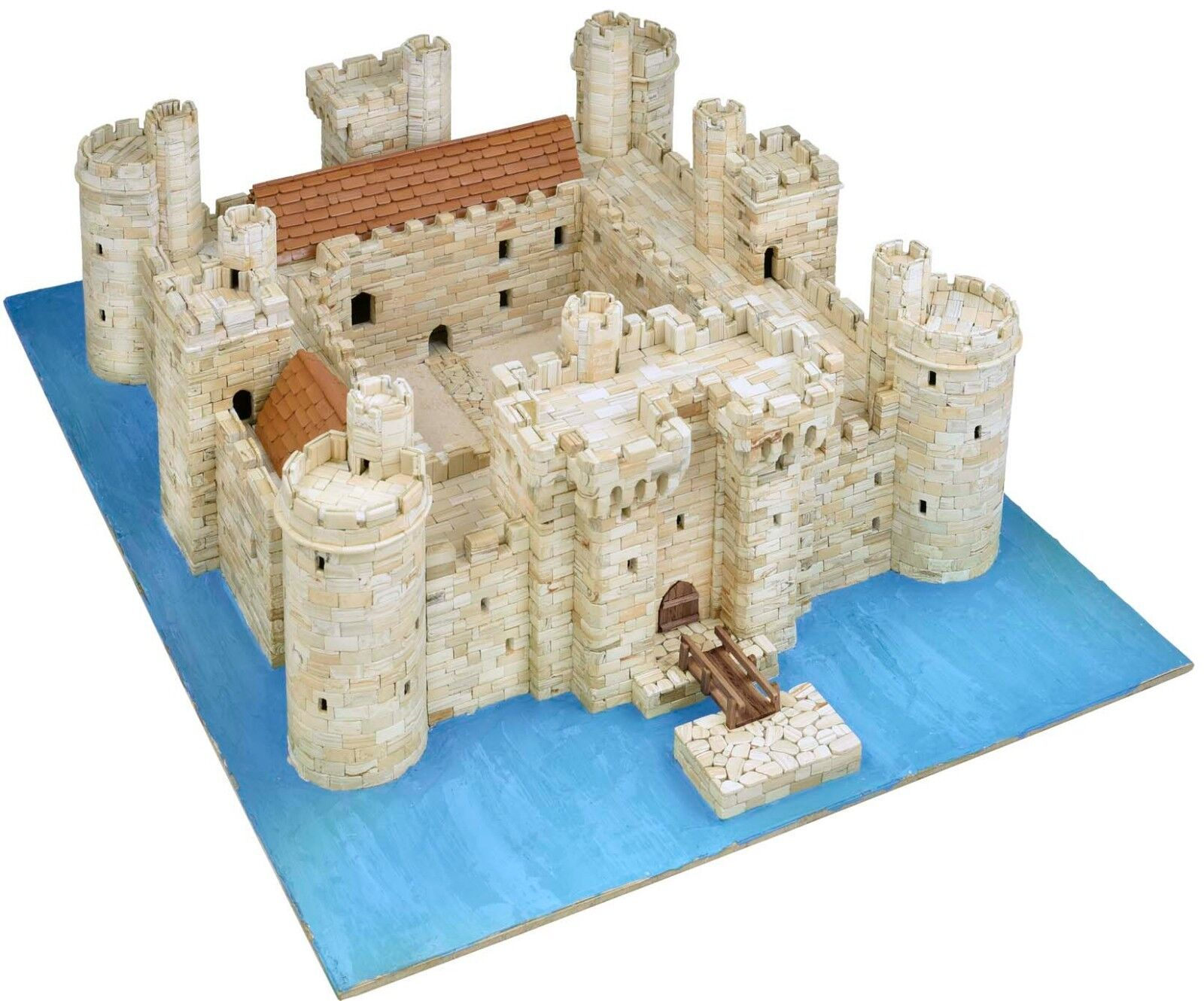 Bodiam Castle Aedes Ars Model Building Kit 1014 Scale 1 180