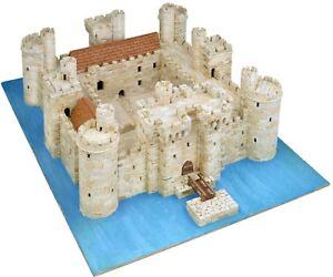 Bodiam-Castle-AEDES-ARS-MODEL-CONSTRUCTION-KIT-1014-Scale-1-180