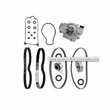 Honda Accord 2.3 98-02 Timing Balance Shaft Belt Tensioners Water Pump Big Kit