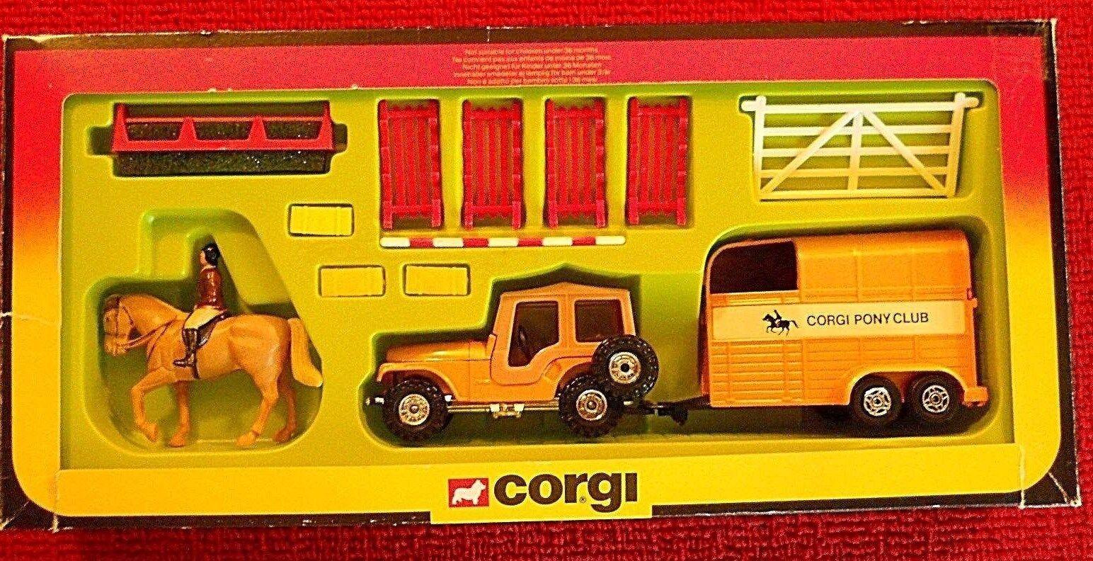 Club de Corgi   29 Pony Conjunto de Regalo.. MIB Completa
