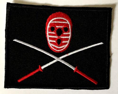 Kendo Nagasaki /'Swords /& Mask/' Sew-on Patch