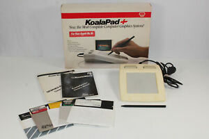 VTG-Koala-Pad-Plus-Apple-IIe-IIc-Drawing-Pad-Complete-with-Software-and-Box