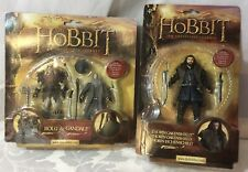 The Hobbit An Unexpected Journey BOLG /& GANDALF Figures NEW AND SEALED