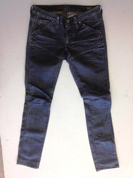 G-Star Elwood Heritage Heritage Heritage Embro Jeans Hose Schwarz Dark Washed W26 L32 | Hochwertige Produkte  20a33b
