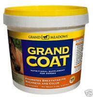 Grand Meadows Grand Coat - Advanced Skin & Coat Horse Supplement 5lb, 10lb, 20lb