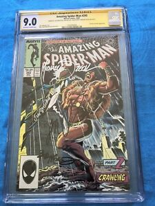 Amazing-Spider-Man-293-CGC-SS-9-0-Signed-by-Zeck-McLeod-DeMatteis-Salicrup