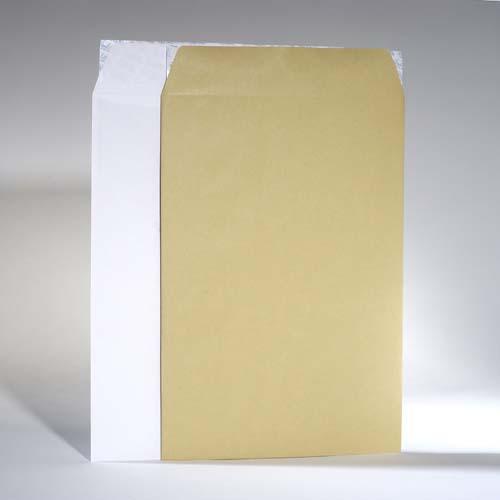 di Cartone Parete Posteriore detenzione adesivo-Bianco-BUSTE rafforzata 50 buste imbottite b4