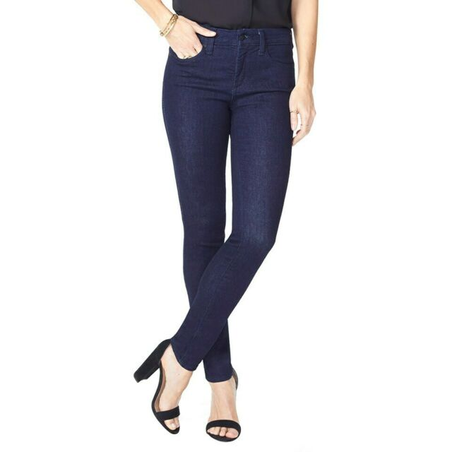 NYDJ ALINA Black Leggings Jeans Size CHOICE 2P 0 2  8