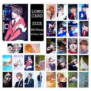 30pcs-set-Kpop-Bangtan-Boys-V-Love-Yourself-Photo-Card-Poster-Lomo-Cards