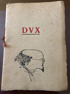 Dux - Mussolini rarità - Italia - Dux - Mussolini rarità - Italia