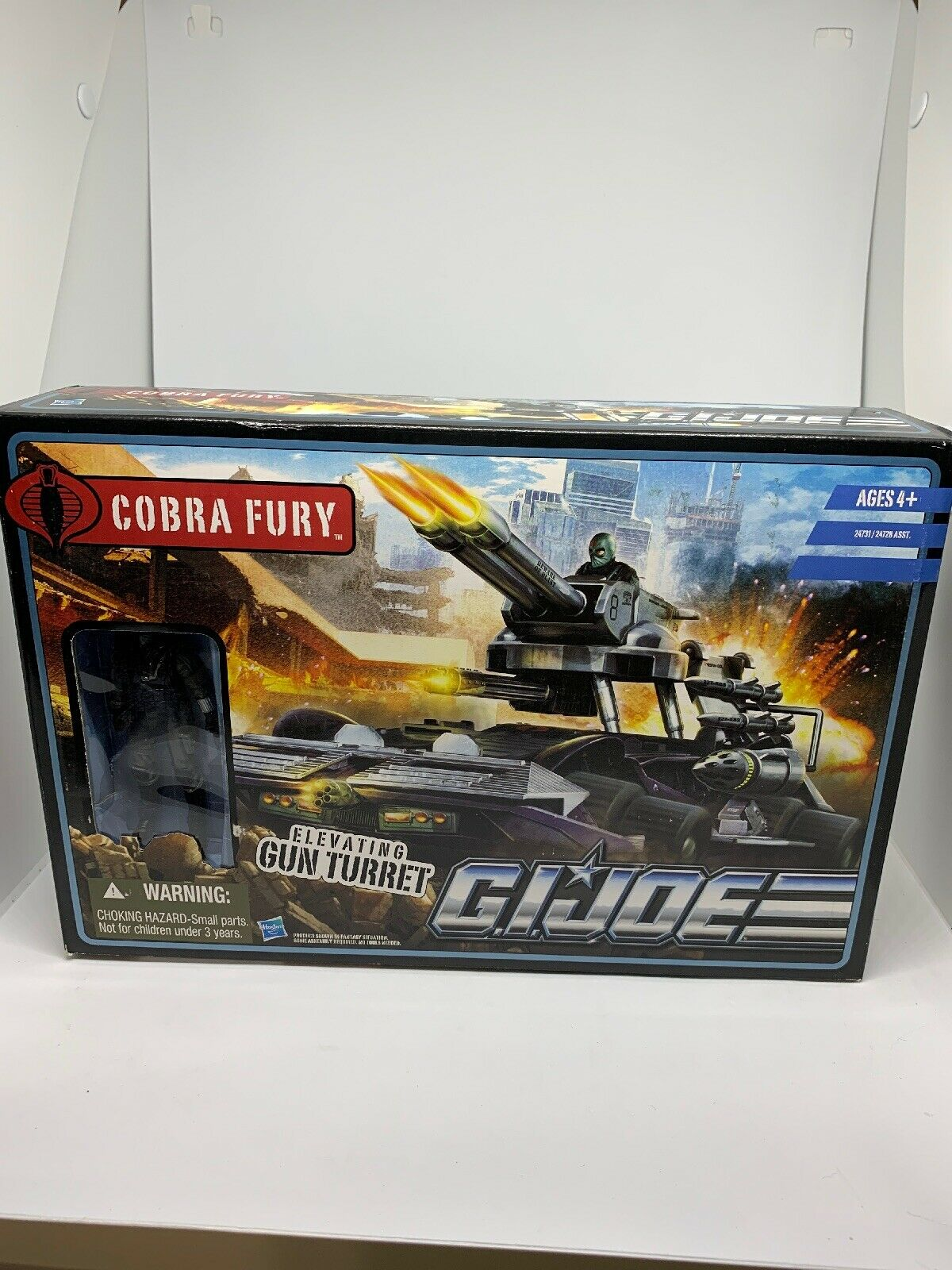 Gi Joe Persuit Of Cobra , Cobra Fury With cifra Sealed In Great Condition