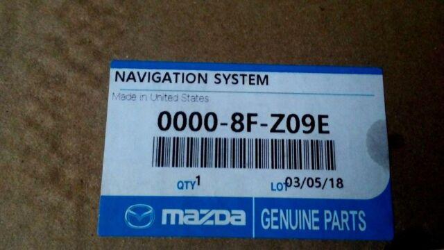 SEALED BOX Mazda 6 Navigation SD Card 2016 2017 2018 00008FZ09E NEW!