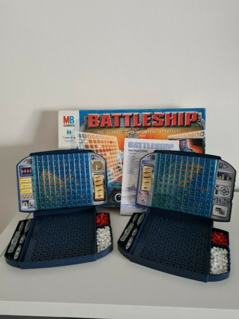 Vintage Battleship Game by MB Games 1999 Complete In VGC See Photos