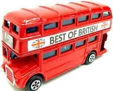 London Bus Red Bus Die Cast Bus London Red Bus Metal Bus Toy Double Decker Bus
