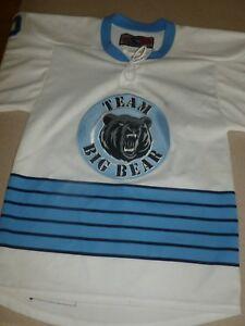 SP-Team-Big-Bear-Hockey-Jersey-Shirt-Mens-Light-Blue-White-sz-S-Small