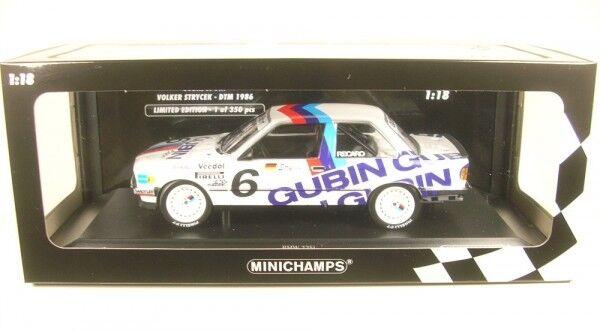 BMW 325i Gubin Sport No. 6 DTM 1986 (Volker Strycek)