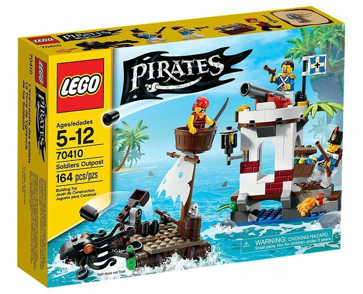 LEGO ® Pirates 70410 Soldiers Outpost NUOVO OVP NEW MISB NRFB
