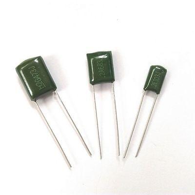 10PCS 2A472J 100V 4.7NF 0.0047uF ±5% Polyester capacitors CL11 NEW