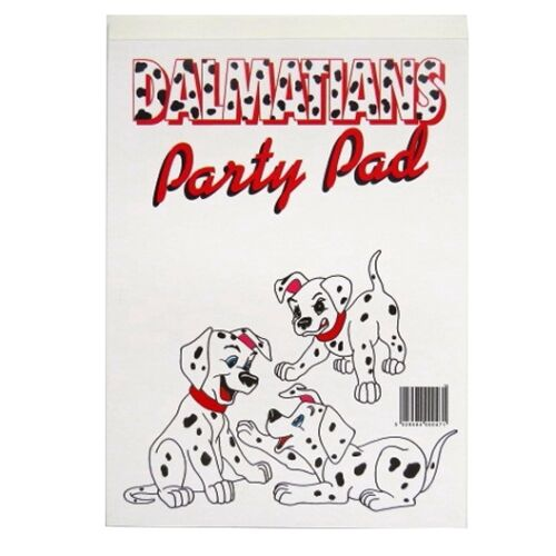 Childrens Drawing /& Painting Pads 4 Designs Girls Dalmations Garfield.....