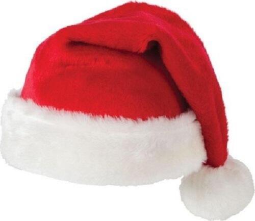 Velluto Babbo Natale Cappelli Party da Festa Famiglia Regalo All/'Ingrosso