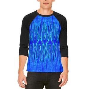 de t para raglán La la eterna llama azul shirt hombre w868R5x